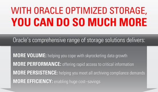 Oracle Optimized Storage